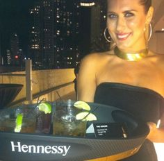 A cool cup of #Hennessy at #ArtBasel #Miami