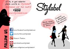 Become a #blogger of #Stylabel. You can follow us through our website or through our www.stylabel.com social networks. Earn money by creating looks, buy and be on of the latest fashion trends!