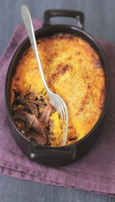 Recette parmentier de canard aux patates douces - Marie Claire