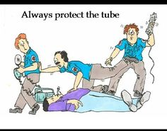 Protect the tube!!