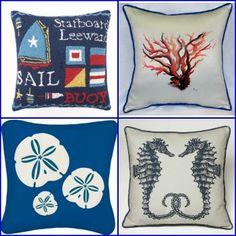 Beach and Coastal Pillows
