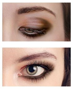 Dramatic eyes for hooded eyes