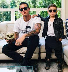 This kid is the man. #fashion