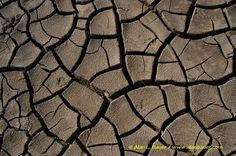 natuurlijke structuur cracked mud