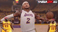 NBA 2K16 MYCAREER   CRUZ PLAYOFF HIGHLIGHTS MIX (PLAYOFF)