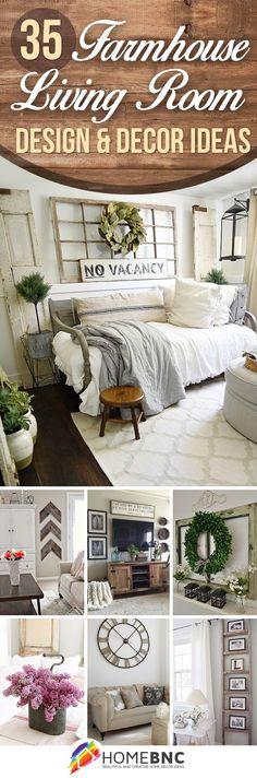 35 Rustikale Bauernhaus Wohnzimmer Design Und Dekor Ideen Für Ihr Zuhause