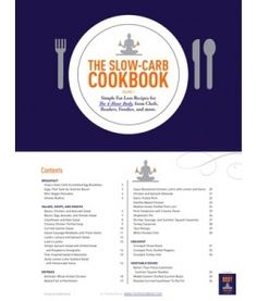 The Slow Carb Cookbook: tons of amazing recipes right here
