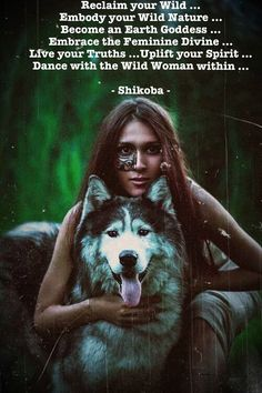 Reclaim your Wild ... Embody your Wild Nature ... Become an Earth Goddess…