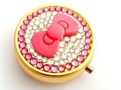 Just launched! Pink bow rhinestone pill box, kawaii crystal trinket box, bridesmaid gift https://www.etsy.com/listing/64729350/pink-bow-rhinestone-pill-box-kawaii?utm_source=crowdfire&utm_medium=api&utm_campaign=api #fashion #fashionista #traveler #fashionaddict #animegirl #shoujo