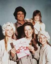 Little House on the Prairie. Charles Ingles was my dream dad.