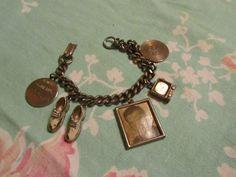 Vintage 1950s Handsome Pat Boone Charm Bracelet by Scentedlingerie, $16.00