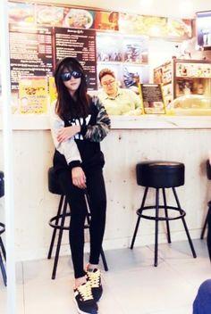 La pequeña actriz Kim Sae Ron