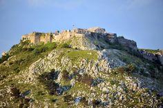 Castle Rozafa in Shkodra, Albania
