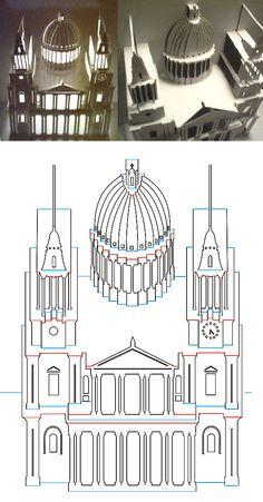 Otro rato entretenido podemos pasarlo construyendo este magnífico edificio.