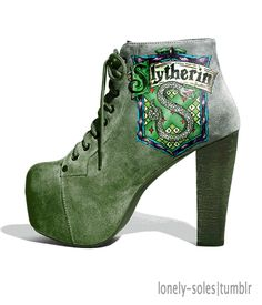 Harry Potter - Slytherin Shoes! <3