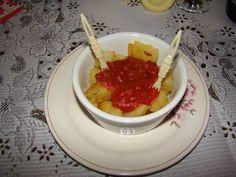 Patatas bravas y aliolí (vegan, gluten free si se hace con harina de maíz)