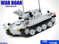 レゴ ウォーボアー主力戦車(LEGO War Boar Main Battle Tank) | by popo lego