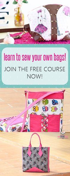 free bag patterns | free sewing patterns | tote sewing patterns | purse patterns