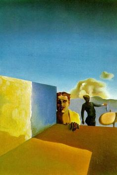 Dali - Hairdresser Depressed by the Persistent Good Weather, 1934