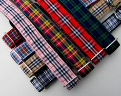 Tartan Plaid Dog Collar Scottish Tartan Plaids by CollarHabit, $27.00 Jackson needs a new collar...