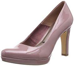 1ad97ad4aa18e9 Tamaris 1-1-22426-22 Escarpins Femme Rose (Mauve Patent 522) 37 EU. Chaussures  Femme