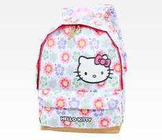 Hello Kitty Backpack: Pattern Flower