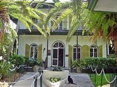 Hemingway House - Key West    had a dream the other night about visiting Key West.