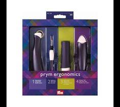 Geschenkset Ergonomics von der Firma Prym mit Nahttrenner, Kopierrädchen, Nadel-Twister, Kreiderad ein tolles Geschenk oder für sich selbst. Diese Artikel der Firma PRYM sind eine Must have...