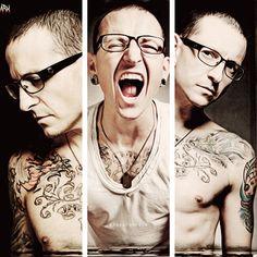 Chester Bennington - love this Linkin Park
