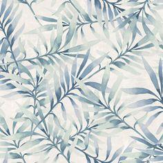 Frodigt bladverk i blåa och gröna nyanser från kollektionen Arcadia AC-18564. Klicka för att se fler härliga tapeter för ditt hem!