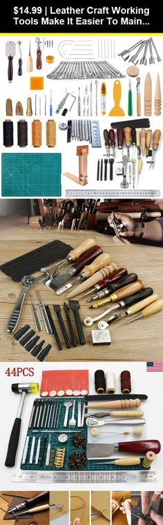Stainless Steel Leather Edge Border Line Making Tools Swivel Hand Craft DIY BBB