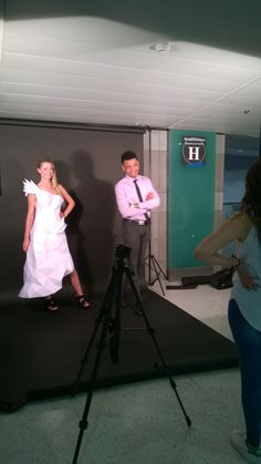 A team of students created this wedding gown that illuminates as the guests swipe on their mobile phone. The gown is made with Maya and Pepakura in paper. Here the video https://www.youtube.com/watch?v=mnqpB8nOtXA  Here the tumblr that talks about the project : http://bridezilla-io.tumblr.com/