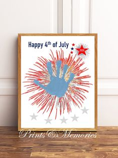 Digital File Happy 4th of July Fourth of July Craft for | Etsy