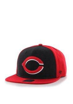6d220f37bc56a8  47 Cincinnati Reds Grey Sure Shot Accent Snapback Hat Reds Baseball