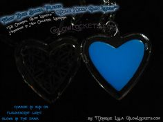Here is my blue frost mystic glow locket® heart! Soooo beautiful, the frost blue is a special favorite, the glow is a deep true blue color and so gorgeous in the shiny silver. Charges easily in the sun, bright light bulbs will charge this blue heart too. Will recharge for ten years! Super fun to wear :) click through the pic for the other pics!
