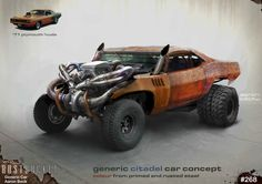 ArtStation - Mad Max: Fury Road - Misc. Vehicles 02, WETA WORKSHOP DESIGN STUDIO