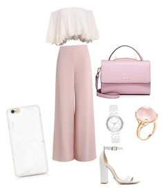 💕💓 by kushdoll on Polyvore featuring polyvore, fashion, style, Zimmermann, Schutz, WithChic, Goshwara, DKNY and clothing