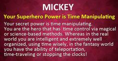 What Is Your Superhero Supernatural Power?