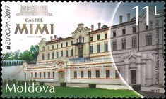 Moldova Date of Issue: April 2017 one stamp MDL) this stamp is issued in a mini-sheet of 10 stamps this stamp is i. Old Stamps, Mail Art, Stamp Collecting, Postage Stamps, Romania, Architecture, House Styles, Travel, Image
