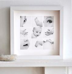Metamorphosis Photography: Baby Photo Collage