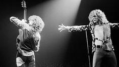 Jimmy Page and Robert Plant - Led Zeppelin