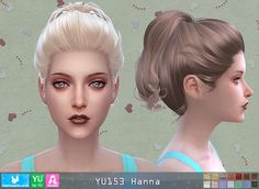 Sims 4 CC's - The Best: Donate Hairstyle by Newsea