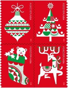 Christmas Seals 2020 Christmas Stamps & Seals | Articles and images about christmas