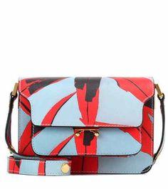 Sac cross-body en cuir imprimé  // www.leasyluxe.com #imprimé #fashion #leasyluxe
