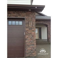Order Kodiak Mountain Stone Manufactured Stone Veneer - Ready Stack Stone Panels Mahogany / Ready Stack / 120 Sq Ft Crate, delivered right to your door. House Number Plaque, House Numbers, Build Direct, Stacked Stone Panels, Manufactured Stone Veneer, Stone Work, Building Materials, Home Builders, Custom Homes
