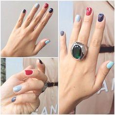 Uñas Nails Manidure Moda.