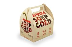 SoepGoed concept and packaging by hajo de boer, via Behance