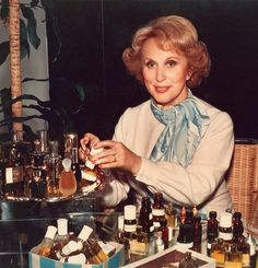 Estee Lauder. A visionary. She was a remarkable woman--she changed the face of the cosmetic industry.