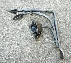 Image result for blacksmith shelf bracket