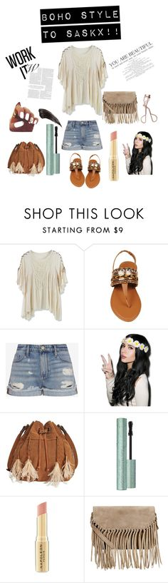 """Boho dedicated to saskx"" by grumpy-cat-lover ❤ liked on Polyvore featuring Chicwish, Frame Denim, Patricia Nash, Napoleon Perdis, Accessorize and Charlotte Tilbury"